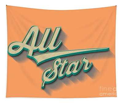All Star Tee Tapestry