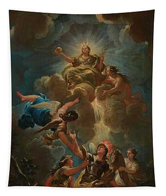 Allegory Of Divine Wisdom Tapestry