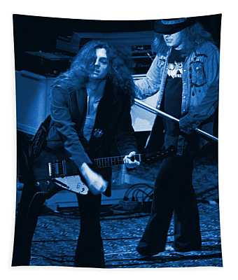 Allen Collins And Ronnie Van Zant Same Old Winterland Blues Tapestry