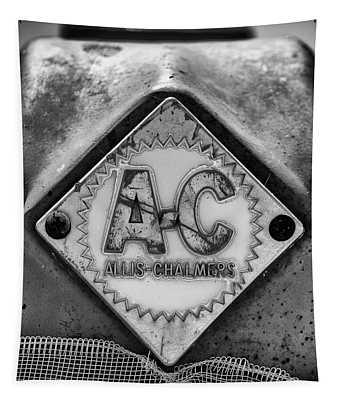 Allis-chalmers Logo - Bw Tapestry