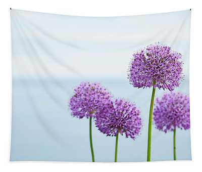 Alliums 1 Tapestry