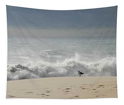 Alone - Jersey Shore Tapestry