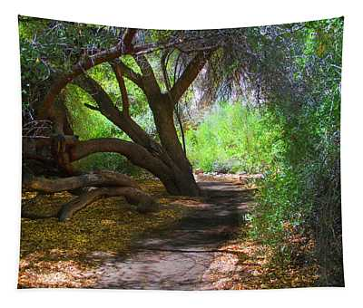 Along The Path Tapestry