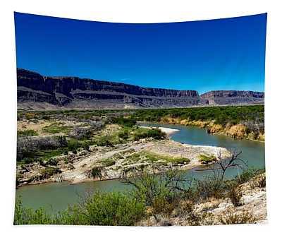 Along The Rio Grande River Tapestry