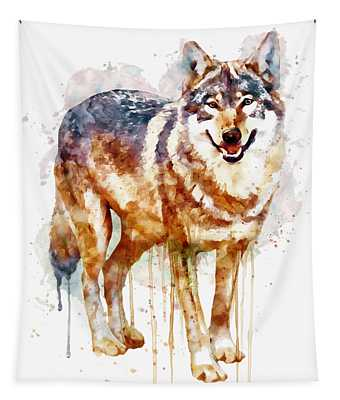 Alpha Wolf Tapestry