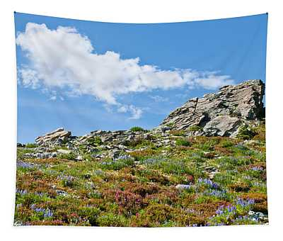 Alpine Rock Garden Tapestry