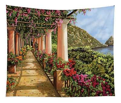 Altre Colonne Sul Golfo Tapestry