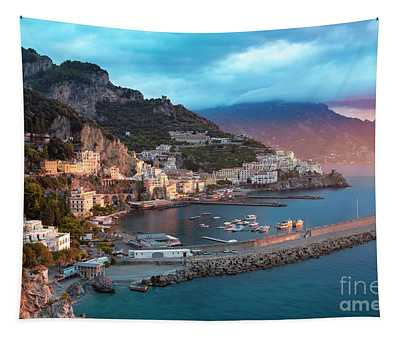 Amalfi Sunrise Tapestry