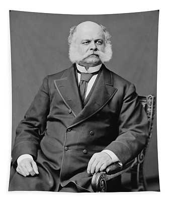 Ambrose Burnside And His Sideburns Tapestry