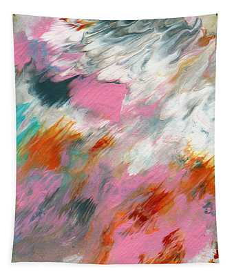 Ambrosia 2- Abstract Art By Linda Woods Tapestry