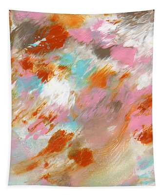Ambrosia- Abstract Art By Linda Woods Tapestry