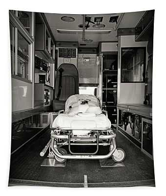 Ambulance The Gurney  Tapestry