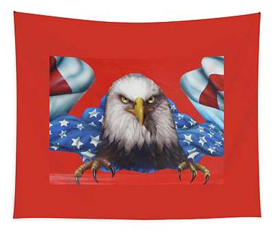 America Patriot  Tapestry