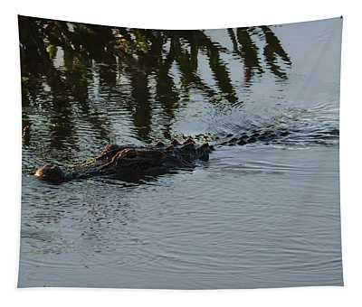 American Alligator Tapestry