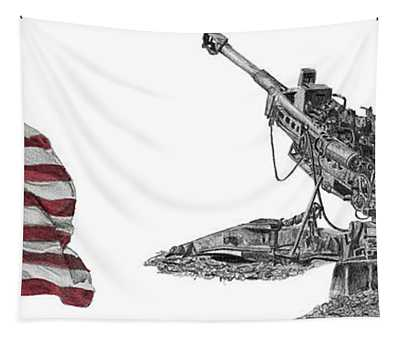 American Artillery Tapestry