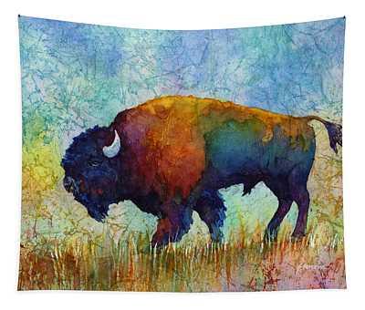 American Buffalo 5 Tapestry