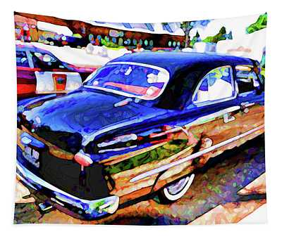 American Classic Car 10 Tapestry