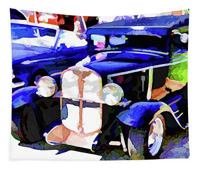 American Classic Car 3 Tapestry