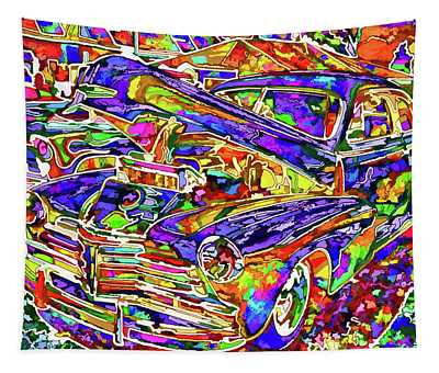 American Classic Car 4 Tapestry