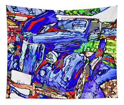 American Classic Car 5 Tapestry
