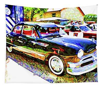 American Classic Car 9 Tapestry