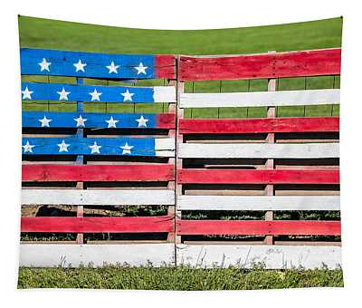 American Folk Art Tapestry