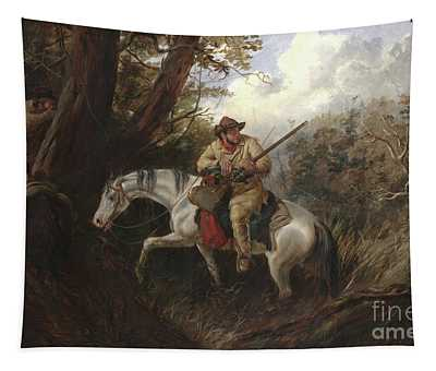 American Frontier Life Tapestry