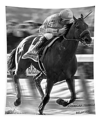 American Pharoah And Victor Espinoza Win The 2015 Belmont Stakes Tapestry