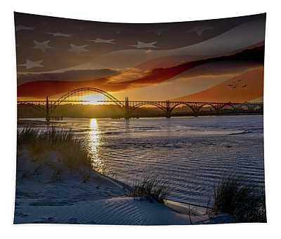 American Skies Tapestry