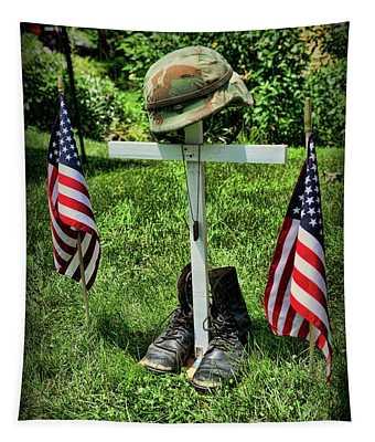 American Tribute  Tapestry