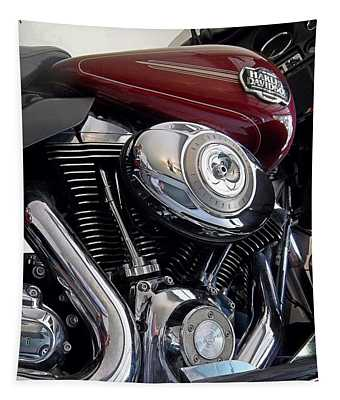 American V-twin Tapestry