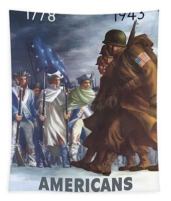 Propaganda Wall Tapestries