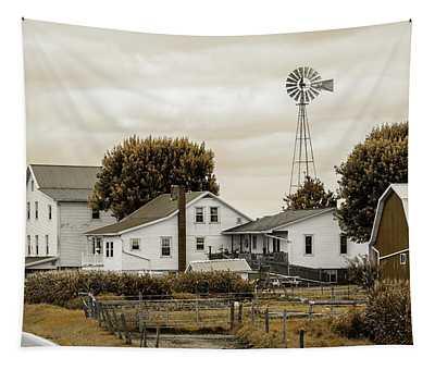 Amish Farm #1 Tapestry