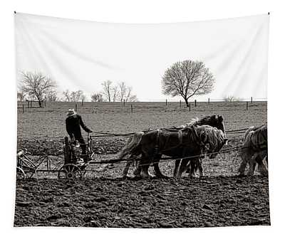 Amish Farming Tapestry