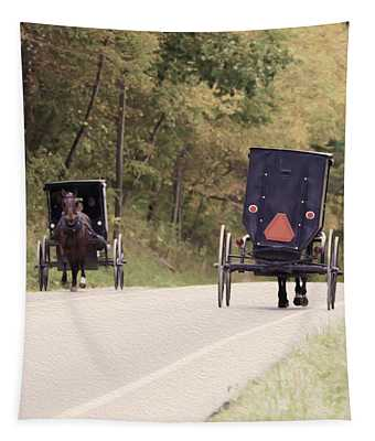 Amish Passing Tapestry