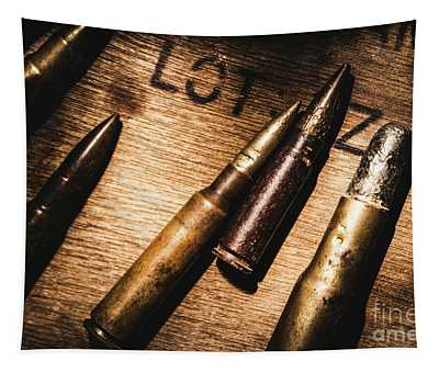 Ammo Supplies Tapestry