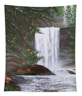 Ammonite Falls Tapestry