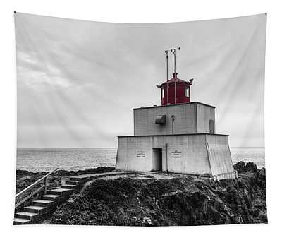 Amphitrite Point Lighthouse Tapestry