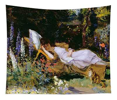 An Afternoon Nap Tapestry