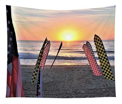 An All-american Sunrise Tapestry