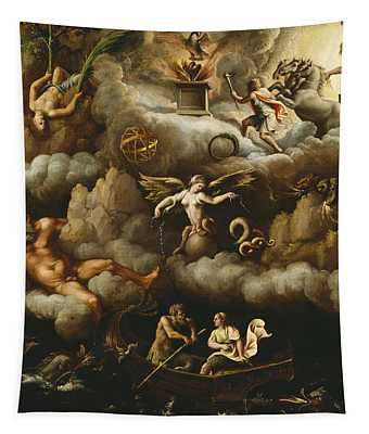 An Allegory Of Immortality Tapestry