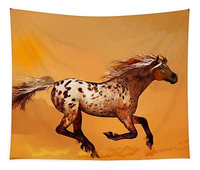 An Appaloosa Called Ginger Tapestry