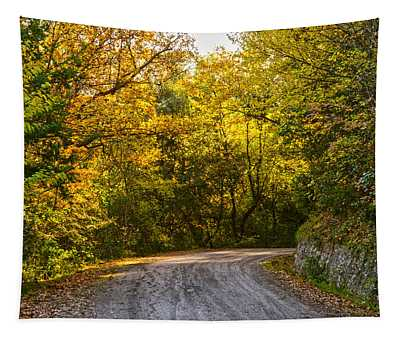 An Autumn Landscape - Hdr 2  Tapestry