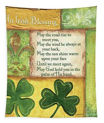 An Irish Blessing Tapestry