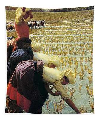 An Italian Rice Field Tapestry