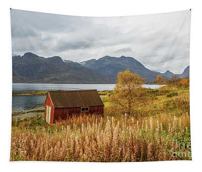 An Old Boathouse Tapestry