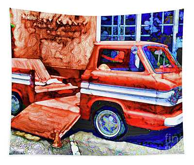 An Old Pickup Truck 2 Tapestry