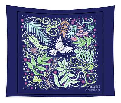 An Opening For A Dove Tapestry