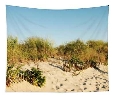 An Opening In The Fence - Jersey Shore Tapestry