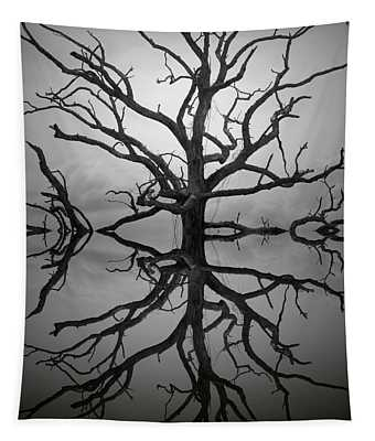 Ancient Oak Tree Montage Tapestry